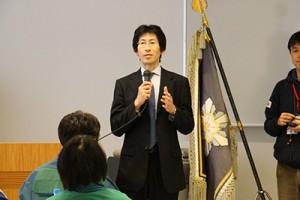 久志本成樹教授による閉会挨拶
