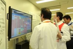 災害時情報収集システムを使った院内情報収集訓練
