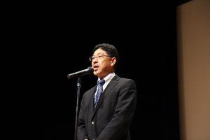 髙橋哲総括副病院長による開会の挨拶