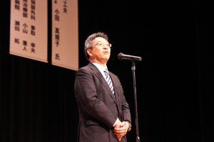地域医療連携センター 海野倫明センター長による閉会の挨拶