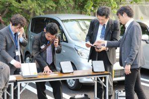 衛星携帯電話の研修