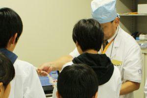 病院見学ツアー:分包体験