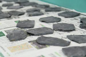 硯の材料となる雄勝石