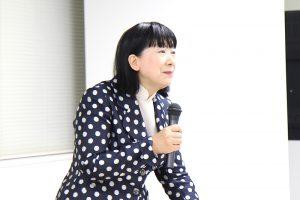 講師の藤田素子先生(エデゥス代表)