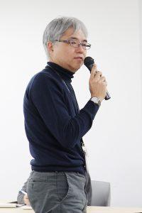 閉会の挨拶(石井教授)